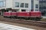 """MaK 1000287 - EfW """"212 240-6"""" 23.04.2005 Darmstadt,Hauptbahnhof [D] Helmut Amann"""