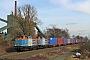 """MaK 1000289 - NBE Logistik """"212 242-2"""" 04.02.2014 Bottrop-Welheim [D] Lucas Ohlig"""