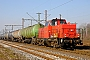 "MaK 1000297 - CC-Logistik ""262 005-2"" 02.03.2011 Duisburg-Ruhrort [D] Rolf Alberts"