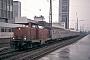 """MaK 1000303 - DB """"212 256-2"""" 12.03.1980 Essen,Hauptbahnhof [D] Martin Welzel"""