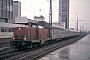 "MaK 1000303 - DB ""212 256-2"" 12.03.1980 - Essen, HauptbahnhofMartin Welzel"