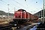 """MaK 1000305 - DB """"212 258-8"""" 15.01.1990 Horb(Neckar),Rangierbahnhof [D] Stefan Motz"""