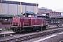 "MaK 1000306 - DB ""212 259-6"" 01.08.1988 - Hamburg, HauptbahnhofGunnar Meisner"