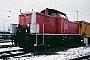 "MaK 1000307 - DB AG ""714 260-7"" 26.12.1994 - MannheimErnst Lauer"
