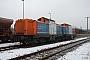 """MaK 1000308 - NBE RAIL """"212 261-2"""" 22.12.2012 Dresden-Friedrichstadt [D] Torsten Frahn"""