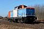 """MaK 1000308 - NBE Logistik """"212 261-2"""" 06.03.2012 Dieburg [D] Kurt Sattig"""