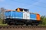 """MaK 1000308 - BM Bahndienste """"212 261-2"""" 16.04.2020 - WaghäuselWolfgang Mauser"""