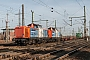 """MaK 1000314 - NBE Logistik """"212 267-9"""" 07.01.2014 - Oberhausen, Abzweig MathildeRolf Alberts"""