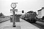 """MaK 1000315 - DB """"212 268-7"""" 03.07.1979 Ascheberg(Holstein),Bahnhof [D] Stefan Motz"""
