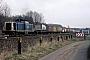 """MaK 1000343 - DB """"212 296-8"""" 11.03.1989 - Kiel, Abzweigstelle SsTomke Scheel"""