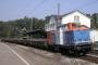 """MaK 1000344 - NbE """"212 297-6"""" 27.07.2006 Eschweiler,Bahnhof [D] Werner Schwan"""