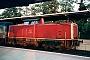 """MaK 1000344 - DB AG """"212 297-6"""" 07.09.1996 - Neuss, HauptbahnhofMichael Hladisch"""