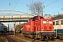 """MaK 1000355 - Railion """"212 308-1"""" 14.12.2001 Hagen-Eckesey,Bahnbetriebswerk [D] Jens Grünebaum"""