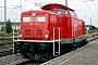 """MaK 1000364 - DB Fahrwegdienste """"212 317-2"""" 01.08.2008 Karlsruhe,Hauptbahnhof [D] Julius Kaiser"""
