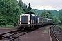 """MaK 1000365 - DB """"212 318-0"""" 07.05.1990 Untermaubach-Schlagstein [D] Adrian Nicholls"""