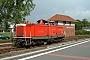 """MaK 1000370 - Railion """"212 323-0"""" 13.09.2004 - Emden-Außenhafen, BahnhofJens Grünebaum"""