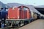 """MaK 1000379 - DB """"213 332-0"""" 01.04.1987 Boppard,Bahnhof [D] Werner Brutzer"""