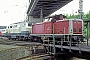 """MaK 1000379 - DB AG """"213 332-0"""" 14.05.1995 Köln-Deutzerfeld,Bahnbetriebswerk [D] Werner Brutzer"""