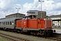 """MaK 1000380 - DB Regio """"213 333-8"""" 16.06.2001 - Hof, HauptbahnhofWerner Brutzer"""