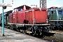 """MaK 1000381 - DB """"213 334-6"""" 07.08.1980 Koblenz,Hauptbahnhof [D] Werner Brutzer"""