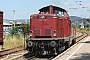 "MaK 1000382 - NeSA ""V 100 2335"" 11.08.2012 - Titisee-Neustadt, Bahnhof TitiseeThomas Wohlfarth"