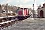 """MaK 1000386 - DB AG """"213 339-5"""" 22.03.1997 - Schleusingen, BahnhofHeiko Müller"""