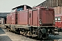 "MaK 1000387 - DB ""213 340-3"" 13.05.1981 - Marburg (Lahn), BahnbetriebswerkJulius Kaiser"