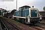 """MaK 1000401 - DB """"290 028-0"""" 09.08.1993 - Grünstadt, BahnhofNorbert Schmitz"""