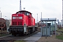 """MaK 1000405 - Railion """"290 032-2"""" 08.01.2004 - Rostock,  Seehafen BetriebswerkPeter Wegner"""