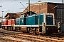 "MaK 1000409 - DB ""290 036-3"" 24.02.1985 - Duisburg-Wedau, BahnbetriebswerkMalte Werning"