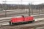 "MaK 1000410 - DB Cargo ""296 037-5"" 04.03.2012 - Seevetal-Maschen, RangierbahnhofAndreas Kriegisch"