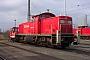 """MaK 1000420 - Railion """"290 047-0"""" 26.02.2004 - Rostock, SeehafenPeter Wegner"""