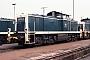 "MaK 1000458 - DB ""290 127-0"" 03.10.1982 - Mannheim, RangierbahnhofKurt Sattig"