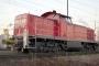 """MaK 1000507 - Railion """"294 705-9"""" 23.01.2006 - Ludwigshafen, GüterbahnhofChristoph Schrimpf"""