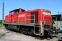 """MaK 1000554 - Railion """"294 711-7"""" 04.08.2007 - Mainz-Bischofsheim, BetriebshofMarkus Hofmann"""