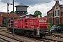 """MaK 1000532 - DB Schenker """"294 724-0"""" 16.07.2012 - Lingen (Ems)Julius Kaiser"""