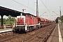 """MaK 1000535 - DB Cargo """"290 227-8"""" 01.07.2001 - Hanau, HauptbahnhofJulius Kaiser"""