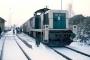 """MaK 1000545 - DB """"290 237-7"""" 21.02.1986 - Hilpoltstein, BahnhofFrank Larsen"""