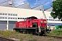 """MaK 1000549 - Railion """"294 241-5"""" 04.07.2004 - Cottbus, AusbesserungswerkPeter Wegner"""