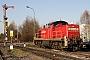 "MaK 1000551 - DB Schenker ""294 743-0"" 20.11.2009 - Menden-Horlecke, Übergabebahnhof RheinkalkPeter Gerber"