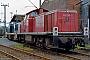 "MaK 1000566 - DB ""290 268-2"" 03.06.1984 - Duisburg-Wedau, BahnbetriebswerkMalte Werning"