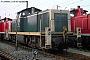"""MaK 1000571 - DB """"290 273-2"""" 22.08.1993 - Ingolstadt, BahnbetriebswerkNorbert Schmitz"""