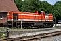 """MaK 1000596 - BE """"D 27"""" 28.05.2005 - Bad Bentheim, Bahnhof NordDietrich Bothe"""