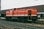 """MaK 1000596 - WLE """"61"""" __.04.2001 - Bielefeld, HauptbahnhofBruno Schöne (Archiv G. Riepelmeier)"""