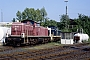 "MaK 1000609 - DB AG ""290 334-2"" 16.06.1994 - Aachen, Bahnbetriesbwerk Aachen WestWerner Schwan"