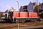 """MaK 1000624 - DB """"290 349-0"""" 13.02.1988 - Osnabrück, BahnbetriebswerkGerd Hahn"""