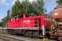 "MaK 1000641 - Railion ""294 866-9"" 25.09.2007 - Menden-Horlecke, Übergabebahnhof RheinkalkPeter Gerber"