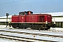 "MaK 1000646 - DB ""290 371-4"" 15.01.1982 - DieburgKurt Sattig"