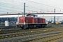 """MaK 1000672 - DB """"290 397-9"""" 30.12.1983 - Duisburg-Bissingheim, RangierbahnhofMalte Werning"""