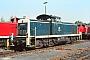 """MaK 1000704 - DB """"291 022-2"""" 04.08.1990 - Hamburg-Wilhelmsburg, BahnbetriebswerkJürgen Steinhoff"""